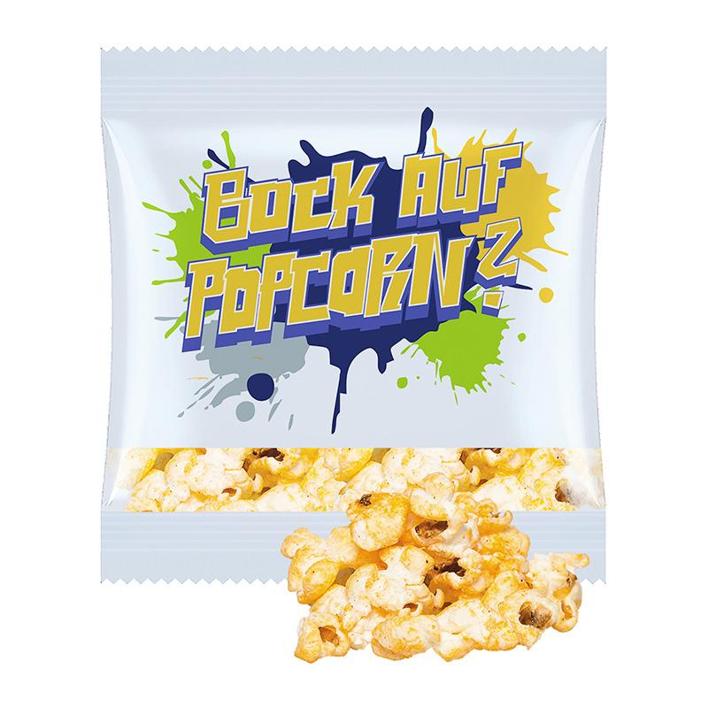 12 g Popcorn Paprika-Chili im Werbetütchen mit Logodruck