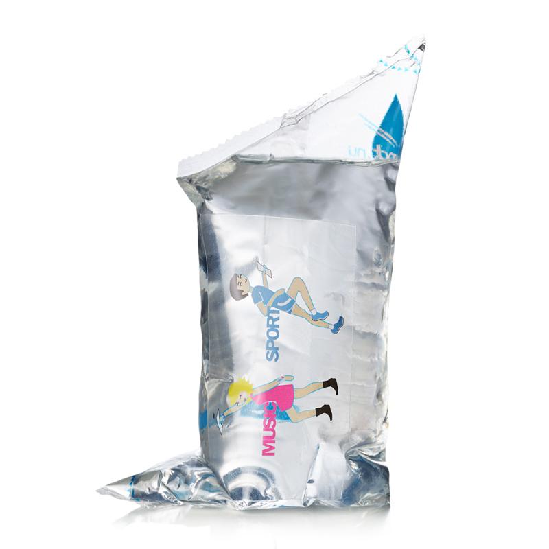 250 ml Event Wasserbeutel mit Logodruck