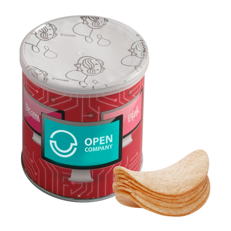 40 g Mini Pringles Chips mit Werbebanderole