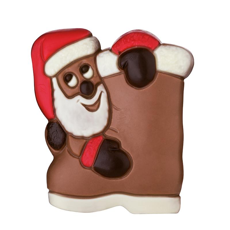 50 g Relief Weihnachtsmann mit Stiefel