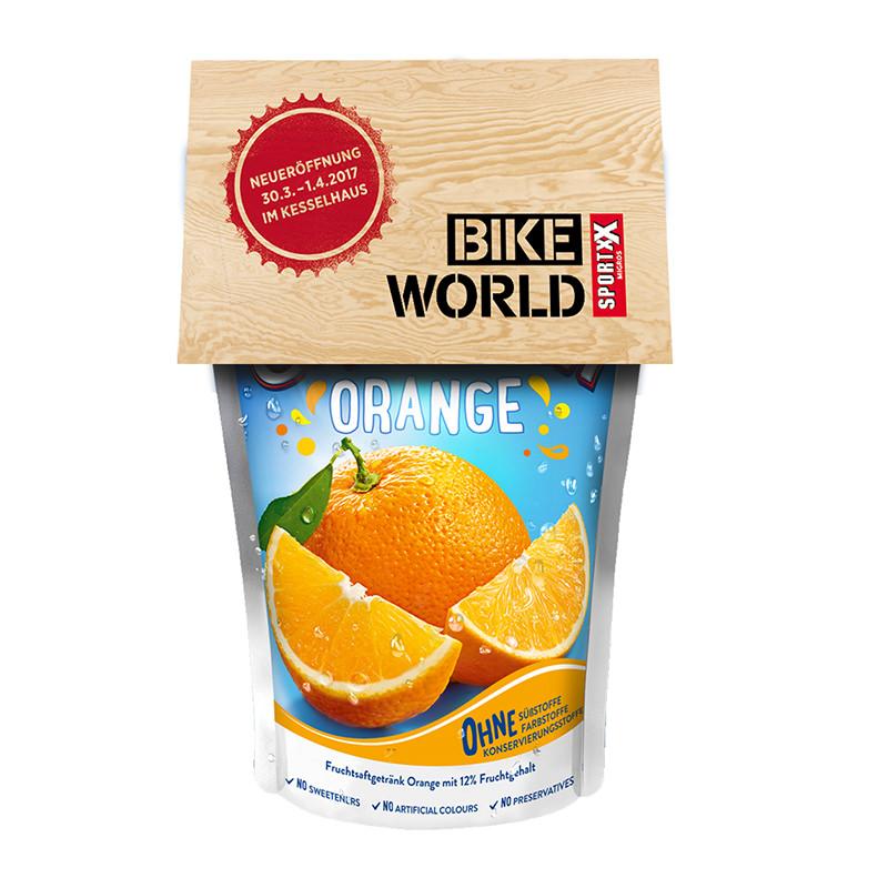 Capri-Sun Orange mit Werbereiter
