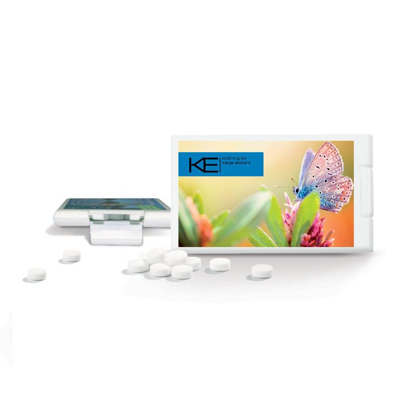 Fresh Card Digital Pfefferminzspender mit Logodruck