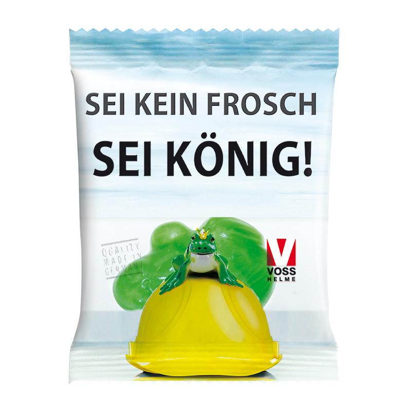 HARIBO Frosch im Werbetütchen mit Logodruck
