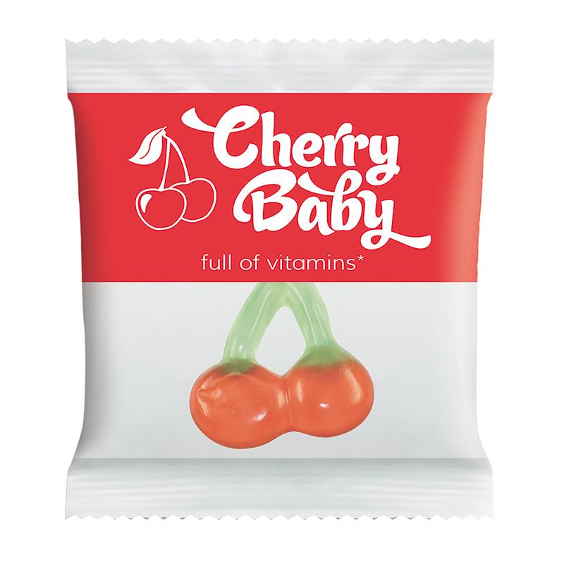 HARIBO Happy Cherry im Werbetütchen mit Logodruck