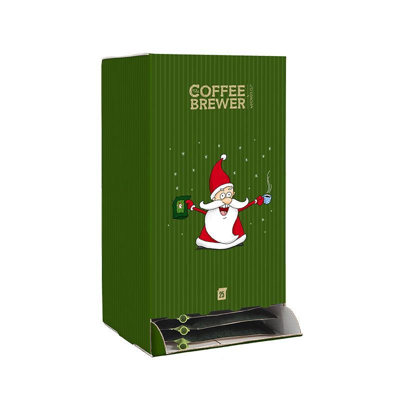 Kaffee Adventskalender Standard mit 24 Adventscomics