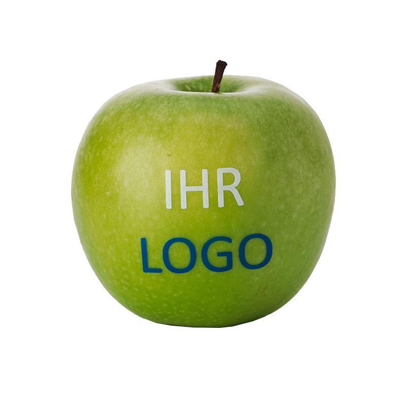 LogoApfel mit farbigen Direktdruck
