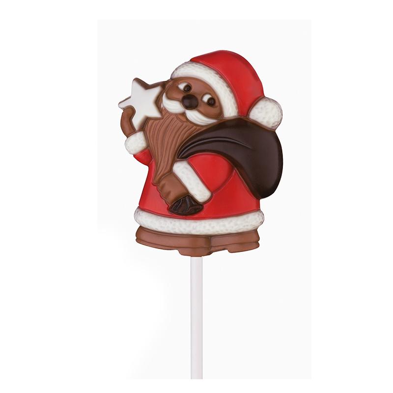 Lolly Weihnachtsmann mit Stern 35 g
