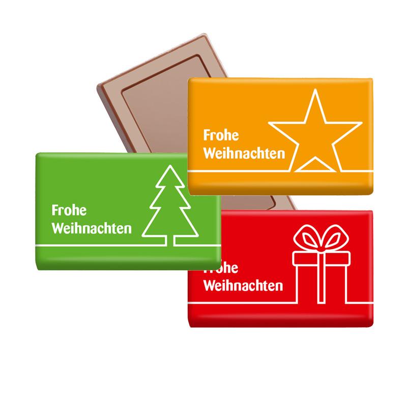 Midi Schokoladen-Täfelchen Weihnachten