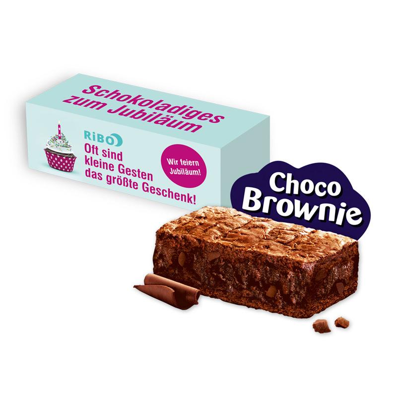Milka Choco Brownie in Werbekartonage mit Logodruck