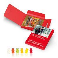 10 g Fruchtgummi-Briefchen in Werbekartonage Bild 1