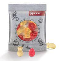 10 g Fruchtgummi Minitüte Sonderformen mit Logodruck Bild 2