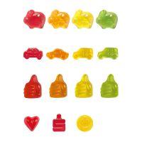 10 g Fruchtgummi Minitüte Standardformen mit Logodruck Bild 5
