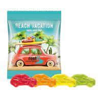 10 g Trolli Fruchtgummi Autos im Werbetütchen mit Logodruck Bild 1
