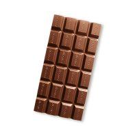 100 g HACHEZ Schokoladentafel im Volleinschlag mit Werbedruck Bild 2