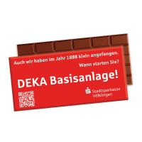 100 g Lindt Premium Schokoladentafel in Werbekartonage Bild 2