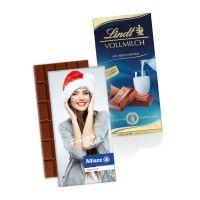 100 g Lindt Premium Schokoladentafel in Werbekartonage Bild 4