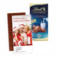 100 g Lindt Premium Schokoladentafel in Werbekartonage Bild 5