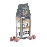 100 g Lindt Weihnachtsmandeln in Standbodenbox mit Werbedruck Bild 1