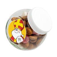 110 g Pfeffernüsse in Schräghalsglas mit Werbeetikett Bild 1
