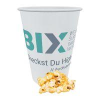 12 g Popcorn Paprika-Chili im Becher mit Werbedruck Bild 1
