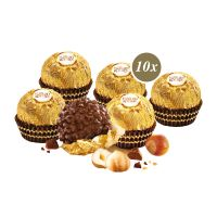 120 g Ferrero Rocher in 6-Eck Präsentbox mit Werbedruck Bild 2