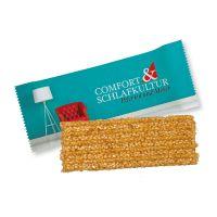 15 g Bio Power Sesam-Müsliriegel im Flowpack mit Werbedruck Bild 1