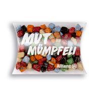 15 g Bunter Schoko-Splitt in Mini-Kissen und Logodruck Bild 1