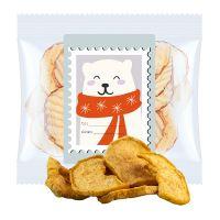 15 g Express Apfelchips mit Zimt im Flowpack mit Werbeetikett Bild 1
