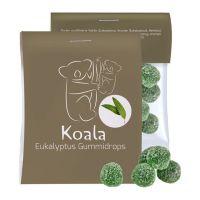 15 g Express Eukalyptus Menthol Fruchtgummi im Flowpack mit Werbereiter Bild 1