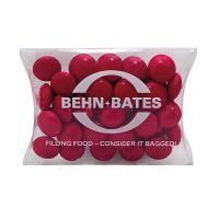 15 g farbige Schoko-Linsen in Mini-Kissen und Logodruck Bild 3