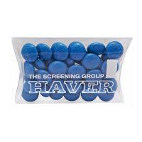 15 g farbige Schoko-Linsen in Mini-Kissen und Logodruck Bild 4