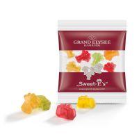 15 g Fruchtgummi Minitüte Sonderformen mit Logodruck Bild 1