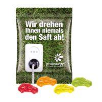 15 g Fruchtgummi Minitüte Standardformen mit Logodruck Bild 1