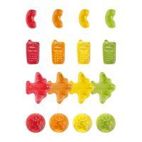 15 g Fruchtgummi Tetraeder Standardformen mit Logodruck Bild 4
