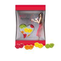 15 g Trolli Fruchtgummi Brillen im Werbetütchen mit Logodruck Bild 1