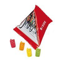 15 g Trolli Fruchtgummi Handys im Tetraeder mit Werbedruck Bild 1