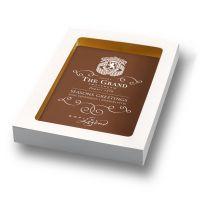 150 g Schokokarte mit individuellem Direktdruck Bild 2