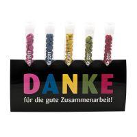 16 g Traubenzucker-Pastillen im Reagenzglas mit Werbeetikett Bild 5