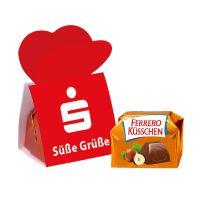 1er Ferrero Küsschen mit Werbebanderole und Logodruck Bild 2