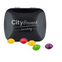 22 g Skittles Kaubonbons in Klappdeckeldose mit Lasergravur Bild 2