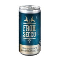 24 Seccodosen FROHSECCO Klassisch - blau Bild 1
