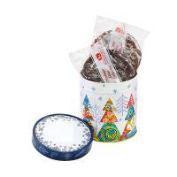 250 g Lebkuchen-Gebäckmischung in Präsentdose 2 mit Logoeindruck Bild 2