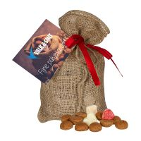 250 g Pfeffernüsse im Jutesack mit Werbekarte Bild 1