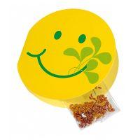 3,5 g Kresse-Samen in Smile-Klappkarte mit Werbedruck Bild 1