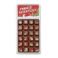 30 g Adventskalender Geschenkpackung mit bedruckbarem Etikett Bild 2