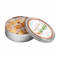 340 g Kekse in einer Dose mit Werbe-Etikett und Logodruck Bild 1