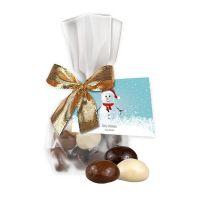 35 g Weihnachtscookies im Flachbeutel mit Werbekarte Bild 1