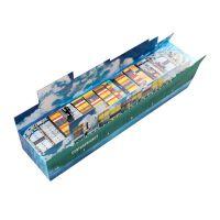 3D Adventskalender Containerschiff individuell bedruckt Bild 3