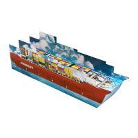 3D Adventskalender Containerschiff individuell bedruckt Bild 4