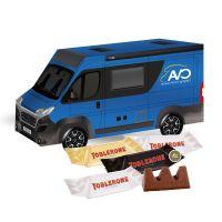 3D Präsent Camper TOBLERONE Minis mit Werbedruck Bild 2